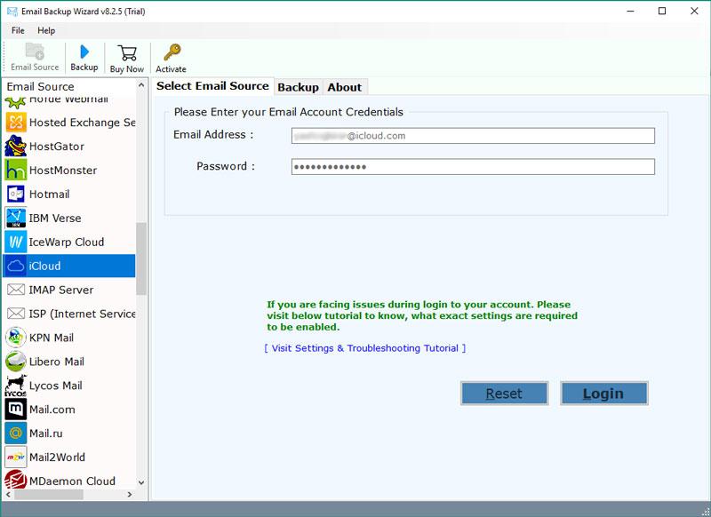 iCloud Mail Backup - Download iCloud Backup to Computer Hard