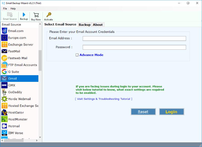 RecoverData Email Converter